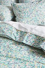 New Liberty for Anthropologie Nina Taylor Twin Duvet Cover & Standard Sham Bloom
