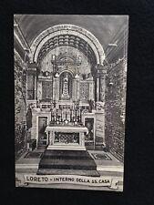 A070- 1943 Loreto Interno SS. Casa formato piccolo per Sant'Anastasia Portici.