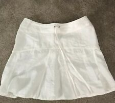 Athleta 14 P Skirt. Linen Tie Waist