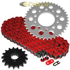 Red O-Ring Drive Chain & Sprockets Kit For HONDA VF750F CB900 CB900F VF1000R