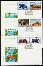 1985 Tractors,Traktoren,Tracteurs,Trattore,Tractoare,Romania,Mi.4179,FDC