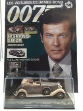 Hispano-Suiza 1/43 Moonraker n59 the Cars of James Bond + Specification