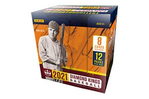 2021 Panini Donruss Diamond Kings Baseball Hobby Factory Sealed Box
