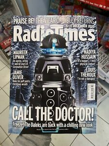 Radio Times Magazine Issue 5-11 Dec 2020 Doctor Who The Daleks Are Back Chilling