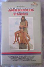 ZABRISKIE POINT MGM/UA BIG BOX EX RENTAL VHS PAL MGM/UA embossed box. PINK FLOYD