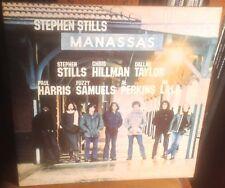 STEPHEN STILLS*MANASSAS self titled 1972 UK ATLANTIC STEREO 2LP w/LARGE POSTER