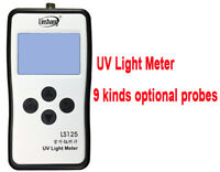 UV Light Meter UV Radiometer Ultraviolet LUX Meter Multi Probe LS125