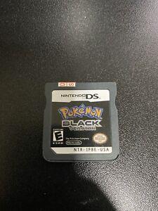 Pokemon Black Nintendo DS Cartridge
