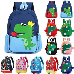 Toddlers Kids Girls Boys Dinosaur Style Backpack Shoulder School Bags Rucksack