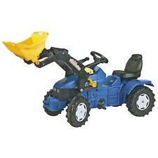 Rolly Toys New Holland TD 5050 Traktor mit Frontlader Trettraktor blau