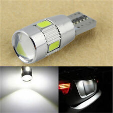 T10 501 W5W CAR SIDE LIGHT BULBS ERROR FREE CANBUS 6SMD LED XENON HID WHITE