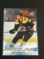 F60285  2019-20 Upper Deck #234 Zach Senyshyn YG RC Bruins Young Guns