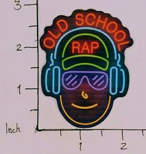 Neon Old School Rap Cool Sticker Funny Decal Car Music Truck Laptop Mixer Hip