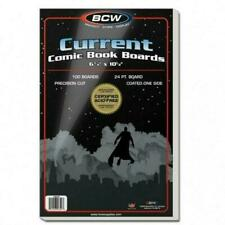 Current Backer Boards 100pk Quality Acid BCW Diversified Bcdbbcur