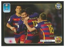 #645 LIONEL MESSI - 2017 FIFA 365 STICKER - The Golden World Of Football
