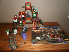 LEGO 6857 SUPER HEROS JOKER DYNAMIC DUO FUNHOUSE ESCAPE COMPLETE