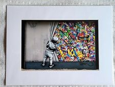 Martha Cooper - Martin Whatson Miami Wynwood Walls Behind The Curtain not banksy