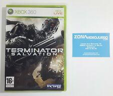 Terminator Salvation, Xbox 360, Pal-Esp. Nuevo a estrenar.