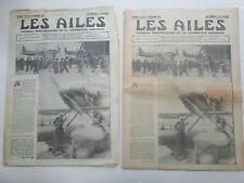 AILES 1931 535 BOOTHMAN COUPE SCHNEIDER SUPERMARINE SABCA LE BRIX MESMIN SALMSON