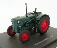 Hachette 1/43 Scale Model Tractor HT120 - 1953 Hanomag R28 - Blue
