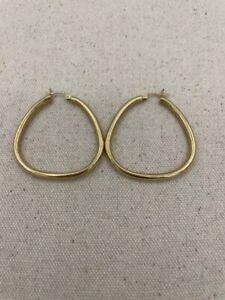 Gold Earrings 14K Yellow Gold 2.4dwt (PC0000530)