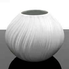 ROSENTHAL 60s-Vase MARTIN FREYER wildes Relief+matte Glasur! great pattern+glaze