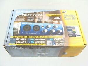 Neuf PreSonus Audiobox 22VSL USB Ordinateur Audio Enregistrement Interface Un 2