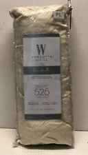Wamsutta  525-Thread Count Full Fitted Sheet PimaCott Stripe IVORY