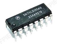 SN74LS195AN Universal 4-bit Access Shift Register Motorola