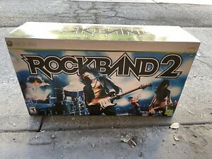 Xbox 360 Rockband 2 Special Edition Bundle Sealed NIB