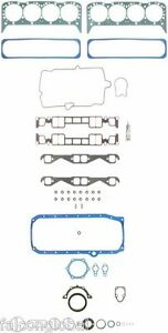 Chevy 350 5.7 VORTEC Fel Pro Full Gasket Set Head+Intake+Oil Pan+Exhaust 96-02
