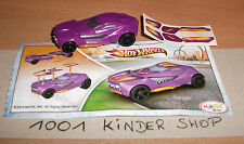 KINDER SPRINTY TR128 TR 128 HOT WHEELS + BPZ (2012) + STICKERS