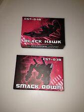 Transformers Botcon 2013 Hands of Steel Exclusive Smack Down Black Hawk Htf
