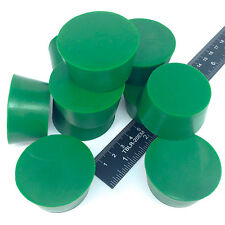 "(10) 1.625"" x 2"" #10 High Temp Silicone Rubber Powder Coating Plugs Cerakote"