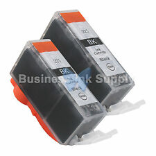2 PGI-225 BLACK New Compatible Ink Cartridge for Canon PGI-225 PGI225 PGI-225 BK