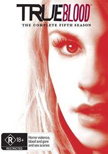 True Blood : Season 5 (DVD, 2013, 5-Disc Set) Australian stock