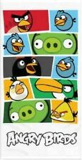 Official Angry Birds Cotton Beach Bath Towel Squares Classic Storyboard New Gift