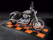 Harley Parking Pad / Harley Davidson garage flooring / interlocking tiles