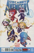 Uncanny Avengers #1 Skottie Young Babies Variant Comic Book - Marvel