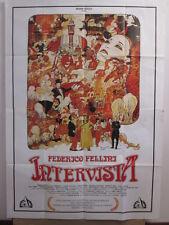 poster 4f-INTERVISTA-FEDERICO FELLINI-COMMEDIA-milo manara-S83967