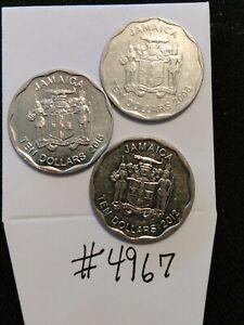 🇯🇲🇯🇲 2008 2012 & 2018 Jamaica 10 Dollars Coin 🇯🇲🇯🇲