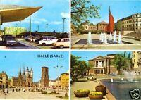 AK, Halle Saale, vier Abb., 1972