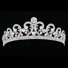 Gorgeous Bridal Floral Rhinestone Crystal Pageant Prom Wedding Tiara 8857