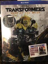 New Transformers:Dark of the Moon 3D Blu-Ray Movie w/ Drawstring Bag New Sealed