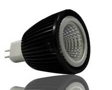 FX LED Spot MR16 Strahler 12V 6W 40° 400lm Alu schwarz warmweiss SHARP COB 3000K