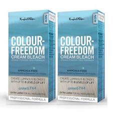 COLOUR FREEDOM Cream Bleach - Ammonia Free - 2 x 80g