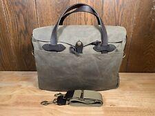 Filson Tin Cloth Briefcase Bag 70016 - Excellent!