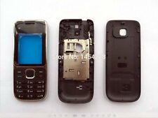 NEW Front Bezel Back Housing Battery Door Cover Case keypad For Nokia C2 C2-01