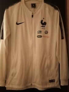 Veste Equipe de France de Football FFF portée worns staff pubs M