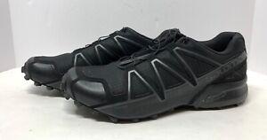 Original Salomon Speed Cross 4 Shoe, Black, Size 13